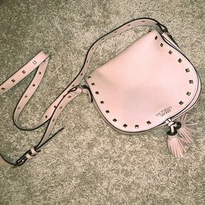 Pink and Gold Victoria Secret Crossbody Purse